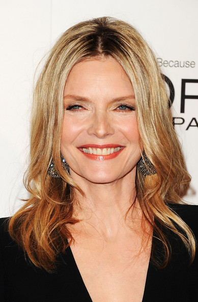 Michelle Pfeiffer's Layered 'Do
