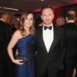 Geri Halliwell and Christian Horner
