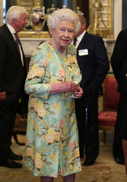 Floral Dresses For Receptions At The Palace