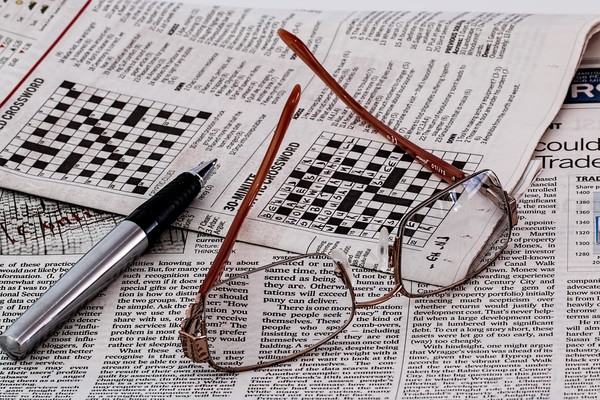 Work A Crossword Puzzle