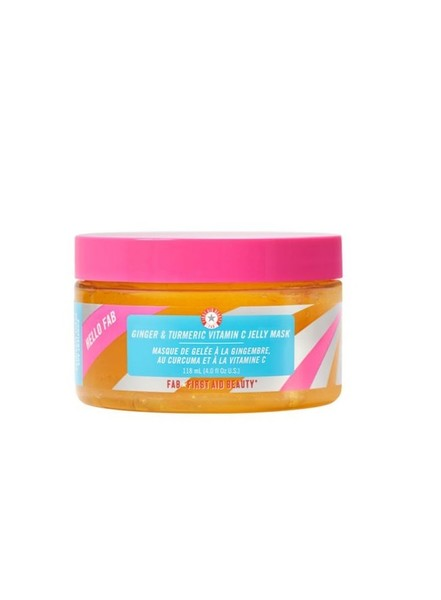 Hello FAB Ginger & Turmeric Vitamin C Jelly Mask