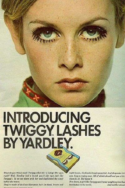 Then: Spidery Lashes