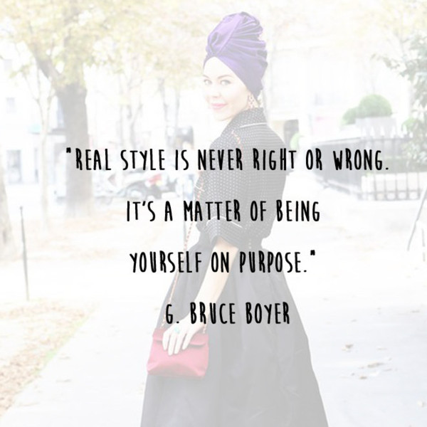 G. Bruce Boyer 'Real Style' Quote