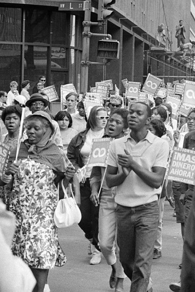 The Poor Peoples March On Washington, D.C