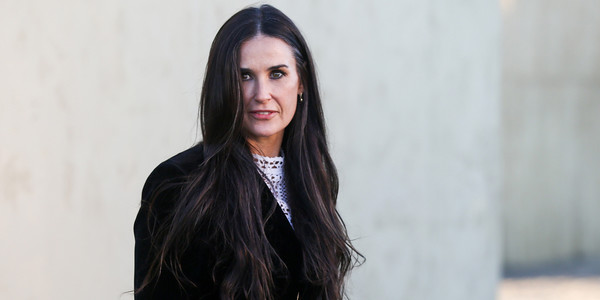 Demi Moore Ignites The Internet With Her WFH Bathroom Setup
