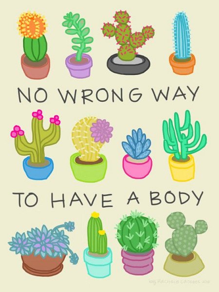 """Ignore """"Flattering"""" Body Rules"""