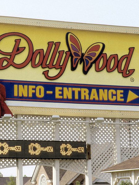 She Owns The Dollywood Theme Park