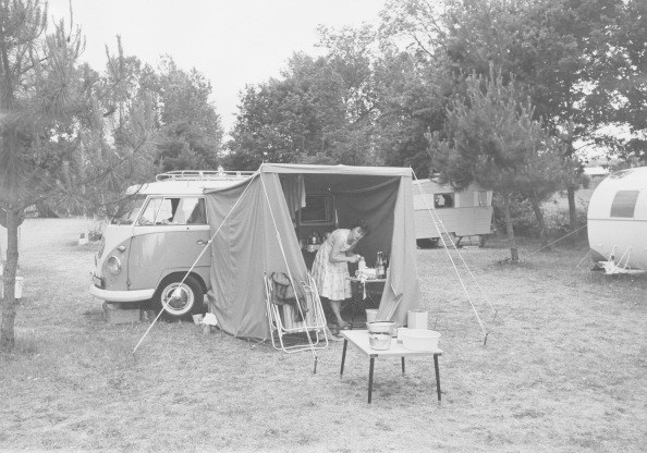 It Was Volkswagon Camping