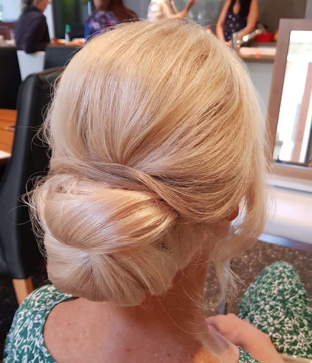 The Folded Bun - Gorgeous Updos For Women Over 50 - It's Rosy