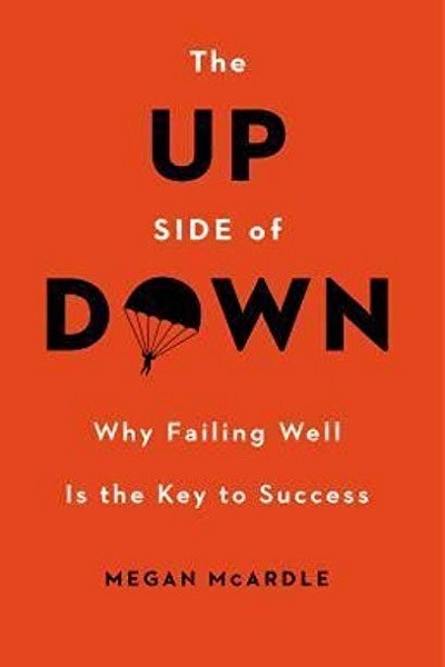 'The Up Side of Down: Why Failing Well Is the Key to Success' by Megan McArdle