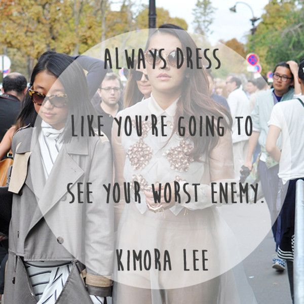 Kimora Lee 'Worst Enemy' Quote