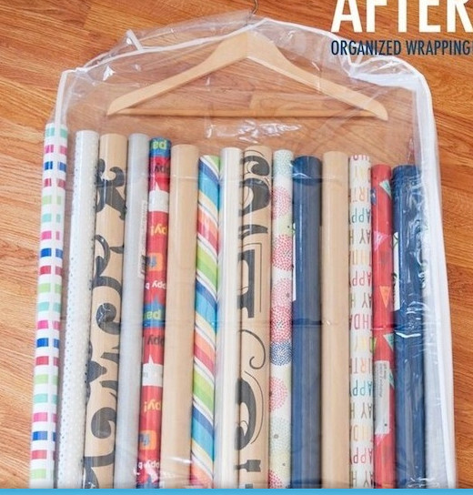 Wrapping Paper Storge